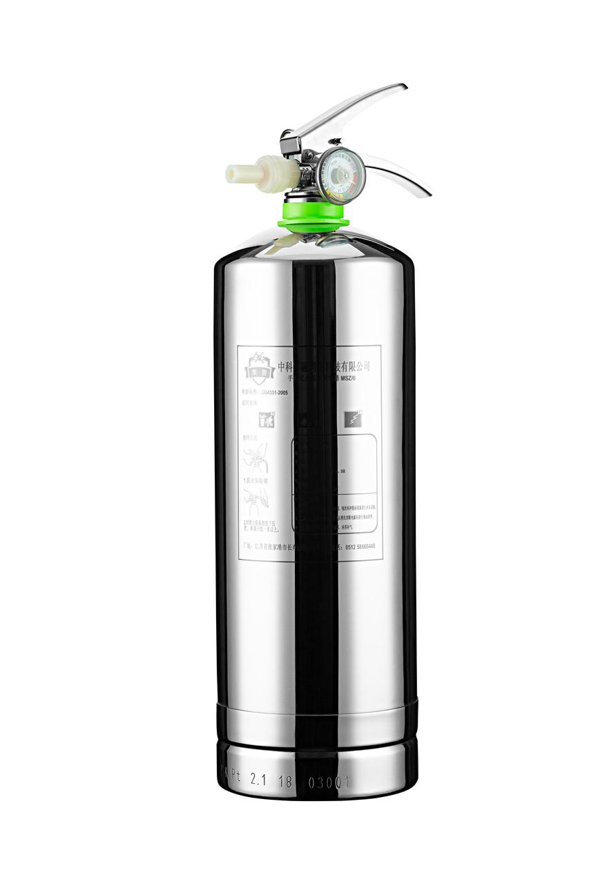 Огнетушитель на водной основе (корпус из нержавеющей стали) 3L.