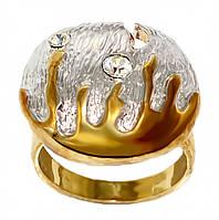 Разъемное кольцо фирмы Neoglory. Камни: белый циркон. Цвет: позолота+родий. Размеры: с 18 р.