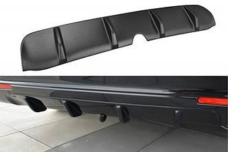 Диффузор заднего бампера юбка элерон тюнинг Honda Accord MK8