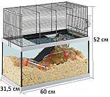 Скляна клітка для піщанок GABRY 60 FERPLAST 60*31,5*h 52 cm, фото 3