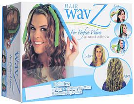 Волшебные бигуди для волос любой длины Hair Wavz, бигуди-спиральки, фото 3