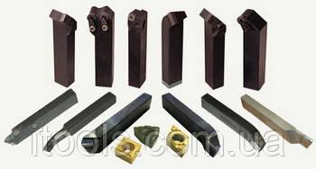 Резец расточной для глухих отверстий 25х16х200 Т15К6 ЧИЗ