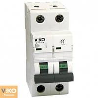 Автоматичний вимикач VIKO 2 п  16А