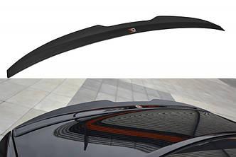 Накладка на спойлер козырёк тюнинг Honda Accord MK8