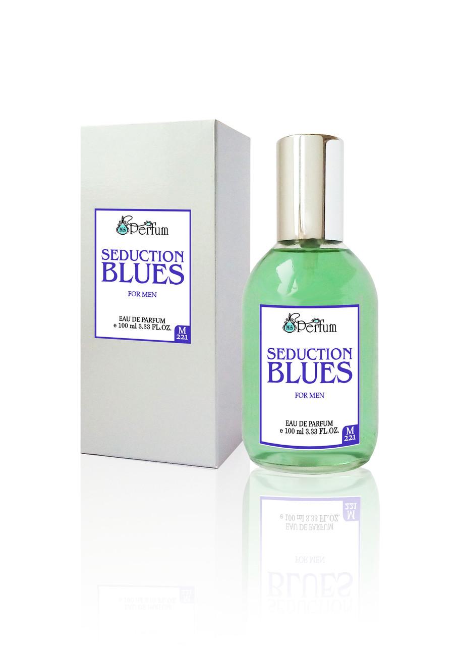 Seduction Blues MSPerfum мужские духи брендовый аромат качественная парфюмерия 100 мл