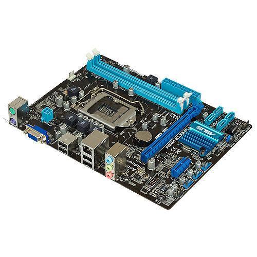 "Материнская плата ASUS P8H61-M LX3 Socket 1155 DDR3 H61  ""Over-Stock"" Б\У"