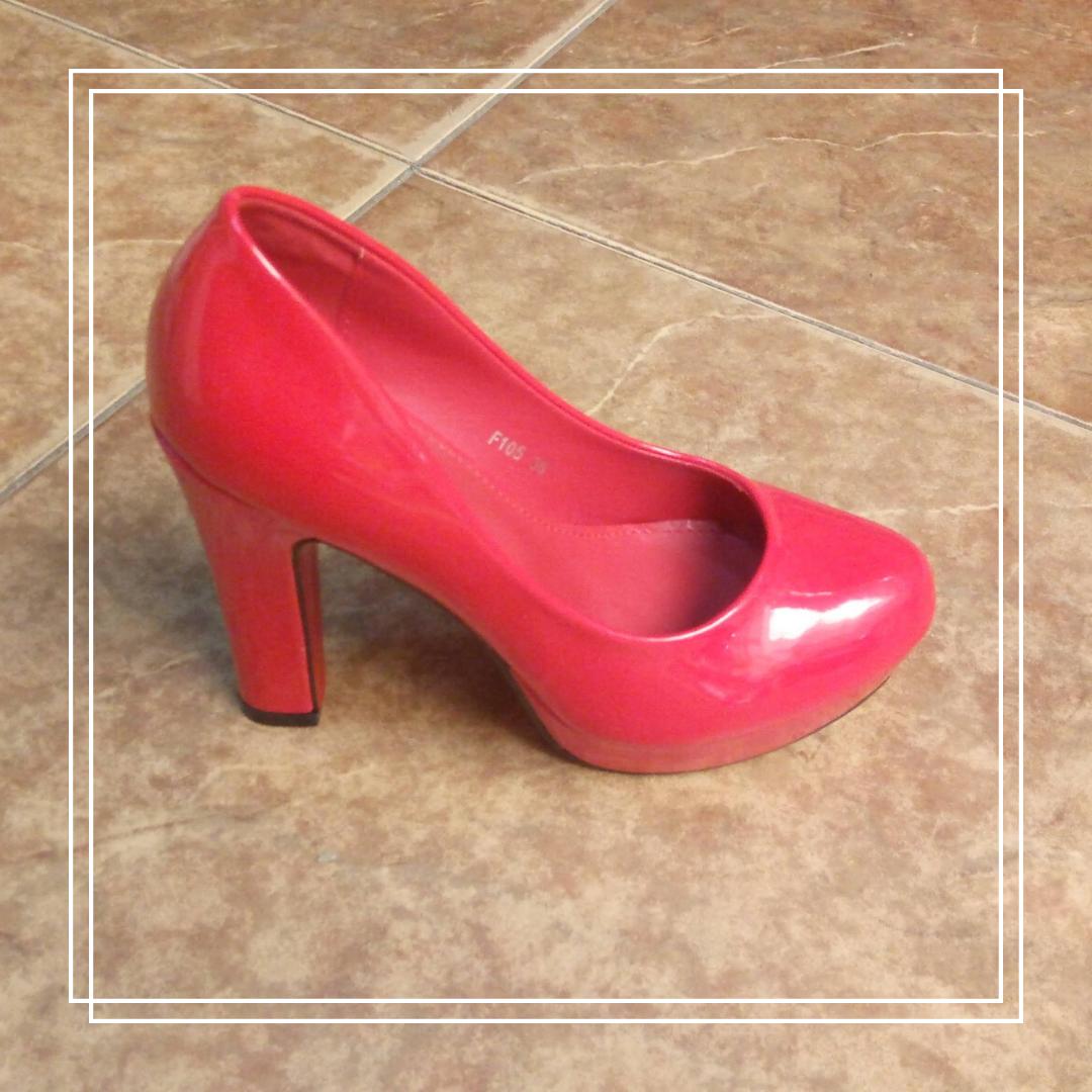 Женские туфли Girnaive SS 182 красный лак, 36