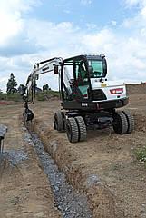 Мини-экскаватор Bobcat E55W