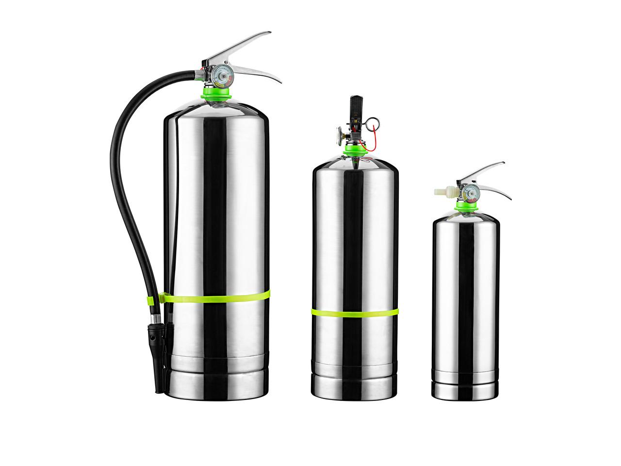 Огнетушитель на водной основе (корпус из нержавеющей стали) 6L.