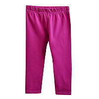 Бриджи для девочки, за колено. Фиолетовые.