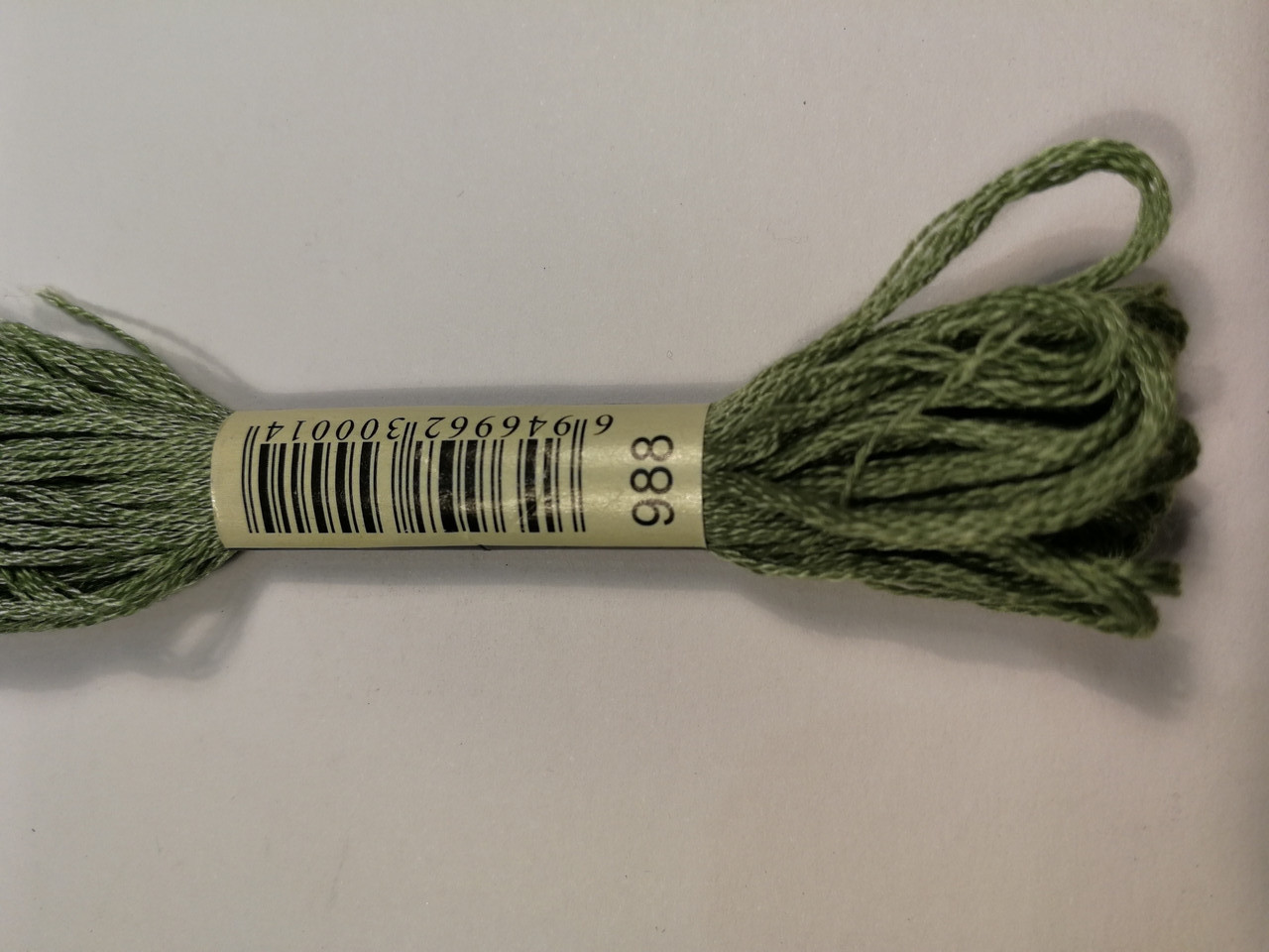 Мулине СХС 988 зеленый лесной средний