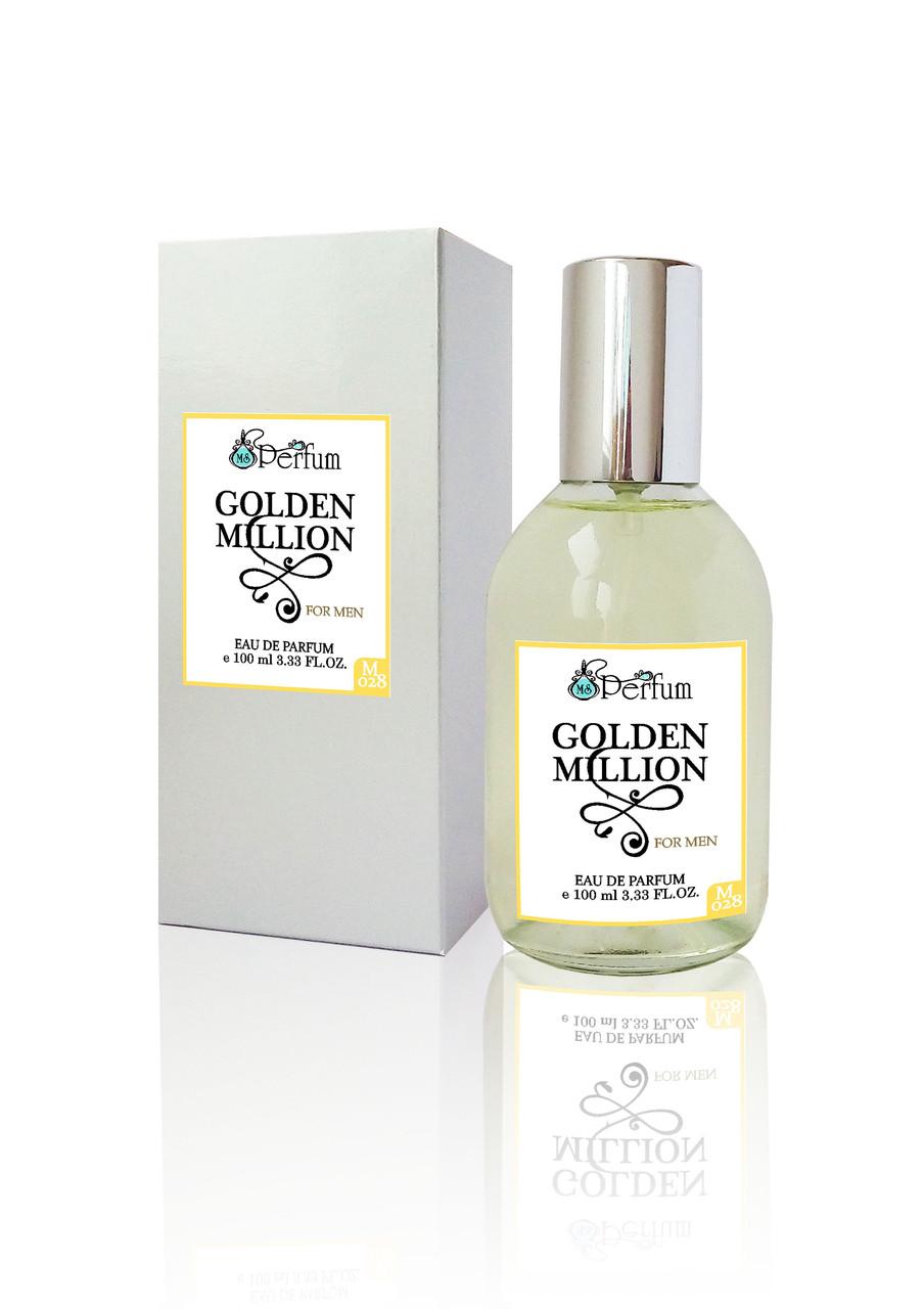 Golden Million MSPerfum мужские духи брендовый аромат качественная парфюмерия 100 мл