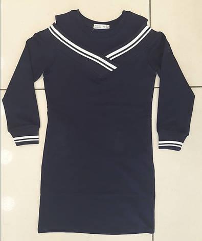 Платье для девочки в школу р. 8-14 лет , фото 2