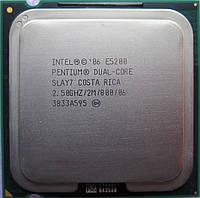 Процессор Intel Pentium Dual-Core E5200 Б\У