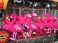 Брелок Фламинго резина