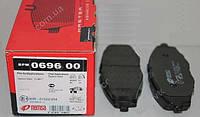 Колодка гальмівна Daewoo Lanos R13 DAEWOO MATIZ 0,8 1,1 05 - передня (компл.4шт) (пр-во REMSA, Іспанія)