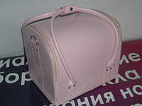 Бьюти-кейс. сумка для мастеров индустрии красоты. Цвет - розовый