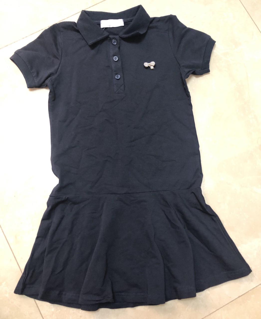 Детское платье для девочки в школу р. 122-140