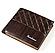Мужской кошелек BAELLERRY Fuerdanni Style Short Темно-Коричневый (SUN0240), фото 2