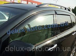 Ветровики Cobra Tuning на авто Subaru Tribeca 2005 Дефлекторы окон Кобра для Субару Трибека с 2005