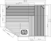 Будівництво бань, обладнання саун,  Будівництво саун
