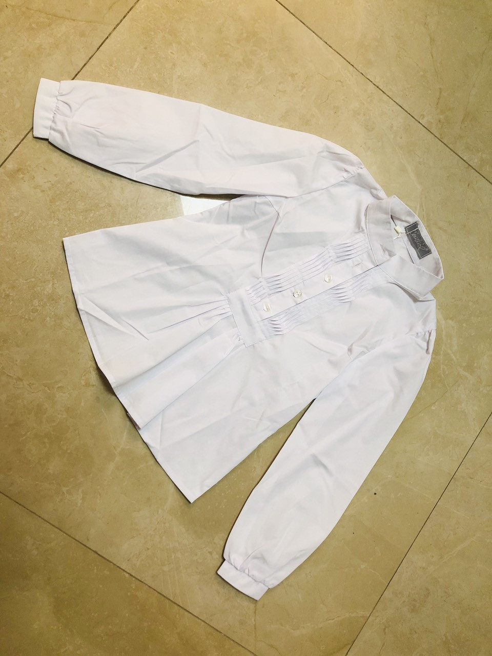 Детская блузка для девочки в школу р. 122-146