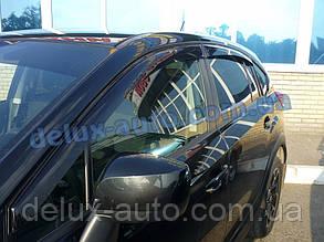 Ветровики Cobra Tuning на авто Subaru XV 2011 Дефлекторы окон Кобра для Субару КСВ с 2011 Ветровики Субару ХВ