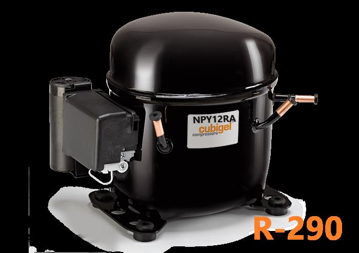 Компрессор герметичный Cubigel (ACC) NPY12RA R-290, фото 1