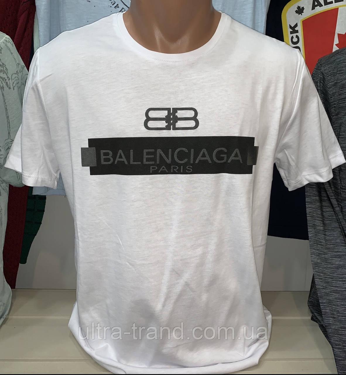 fd7fb20e83e5b Мужские турецкие брендовые футболки Balenciaga хлопок - Интернет магазин  Ultra-Trend в Харькове