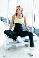 Женский тренировочный спортивный костюм для фитнеса