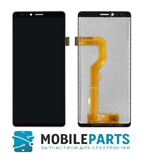 Дисплей для телефона Elephone A2 c сенсорным стеклом (Черный) Оригинал Китай