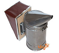 Дымарь пасечный со съемным мехом окрашенный порошковой краской, фото 1