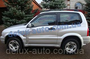 Ветровики Cobra Tuning на авто Suzuki Grand Vitara I 3d 1998-2005 Дефлекторы окон Кобра Cузуки Гранд Витара 1