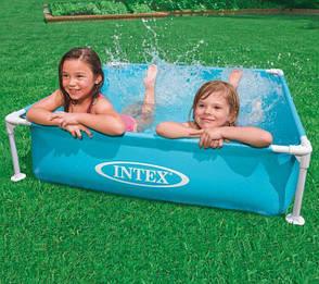 Детский каркасный бассейн 57173 Intex Mini Frame Pool 122x122x30, фото 2