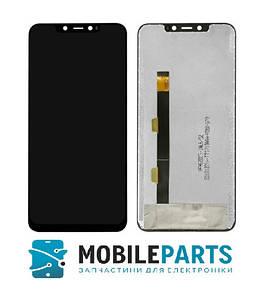 Дисплей для телефона Elephone A5 c сенсорным стеклом (Черный) Оригинал Китай