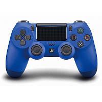 Беспроводной джойстик Dualshock 4 V2 Wave Blue (PS4)