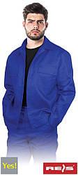 Куртка рабочая синяя REIS Польша (спецодежда роба униформа) YES-J N