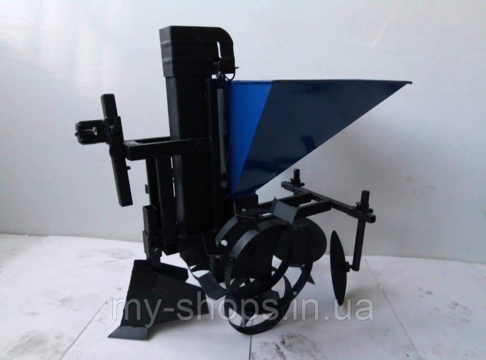 Картофелесажалка КСЦ-1  с транспортировочными  колесами.