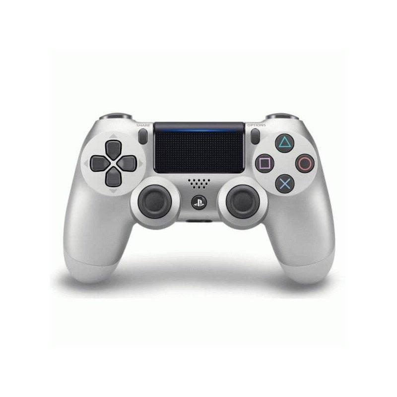 Беспроводной джойстик Dualshock 4 V2 Silver (PS4)