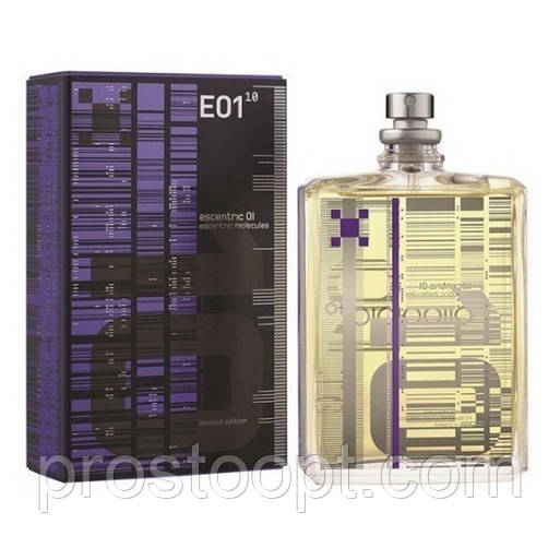 Escentric Molecules E01 Limited Edition 100 мл TESTER  унисекс