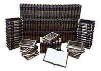 Книги подарочные элитная серия BST 860505 160х224х55 мм Библиотека зарубежной литературы (Robbat Mogano) (в 100 томах) в кожаном переплете