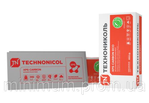 Плити пінополістирольні екструзійні CARBON ECO 40*580*1180 (уп.10шт)