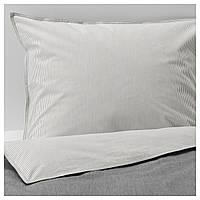 Комплект постельного белья IKEA BLÅVINDA 200x200 см Серый (203.280.49)
