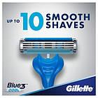 Набор одноразовых станков для бритья Gillette Blue 3 Cool Original (6+2 в подарок) 01147, фото 4