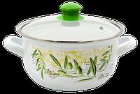 Pot.En. SAVASAN w7860 /Кастрюля /cт.кр/18 см / 2.3 л /Olive промо (6348876)