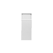 Постамент Orac Luxxus,D310, 9.5x24.9x3.1см, лепной декор из полиуретана
