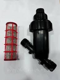 """Фильтр сетчатый с наружной резьбой 1""""  aquapulse"""