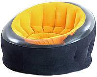 Надувное кресло Intex Empire Chair  112х109х69см, оранжевый