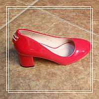 Женские туфлиMeiDeLi 065-1 красный лак, 36