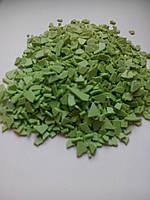 Осколки шоколада зеленые 5кг